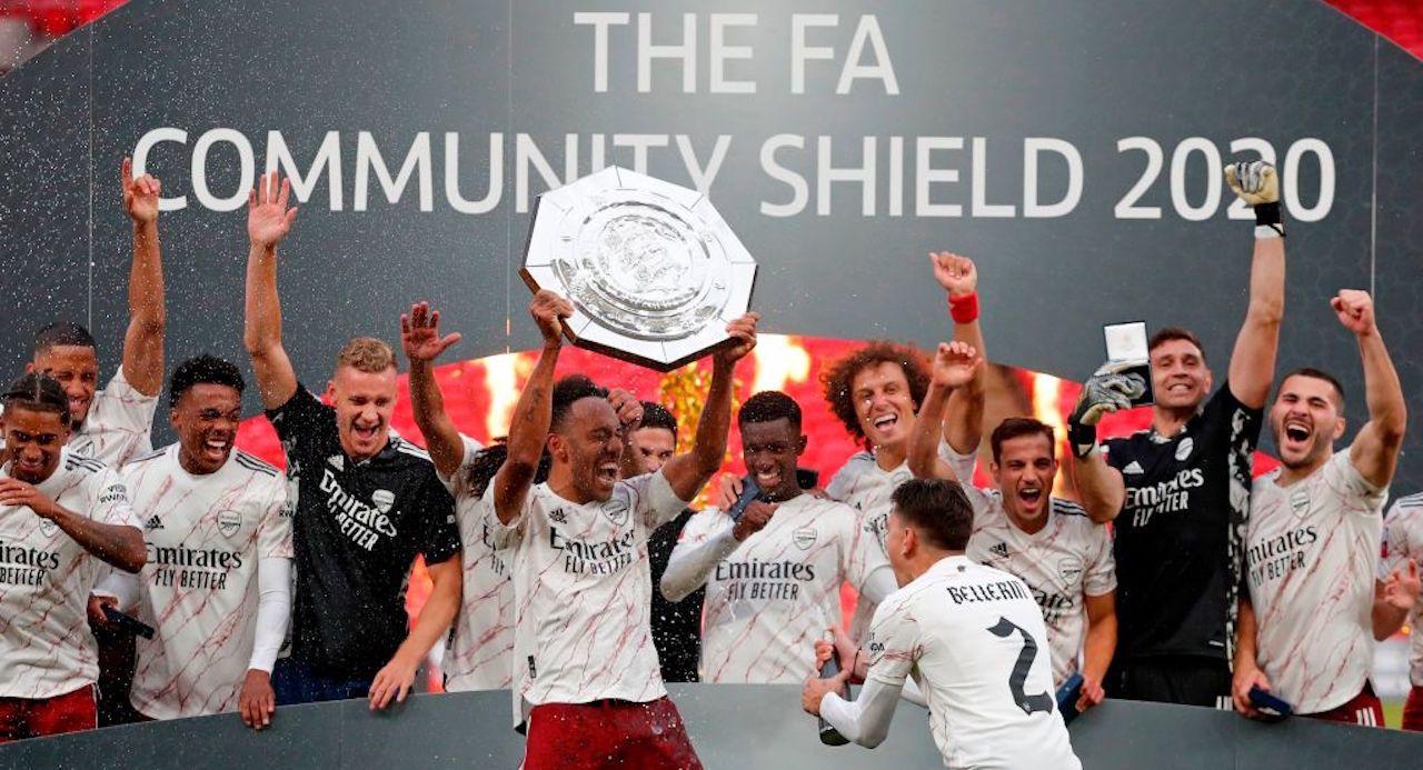 Arsenal-Liverpool, il Community Shield vinto dopo i rigori