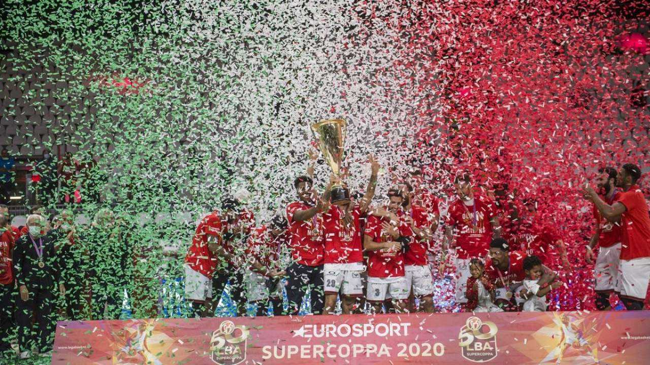 L'Olimpia Milano trionfa in Supercoppa Italiana