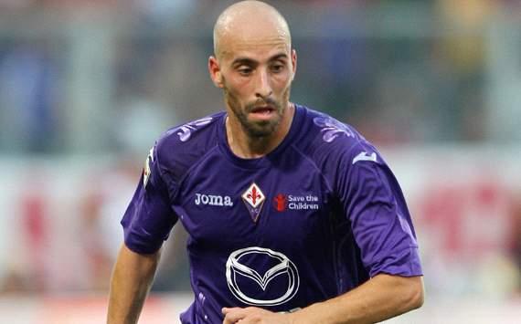 Borja Valero, centrocampista della Fiorentina