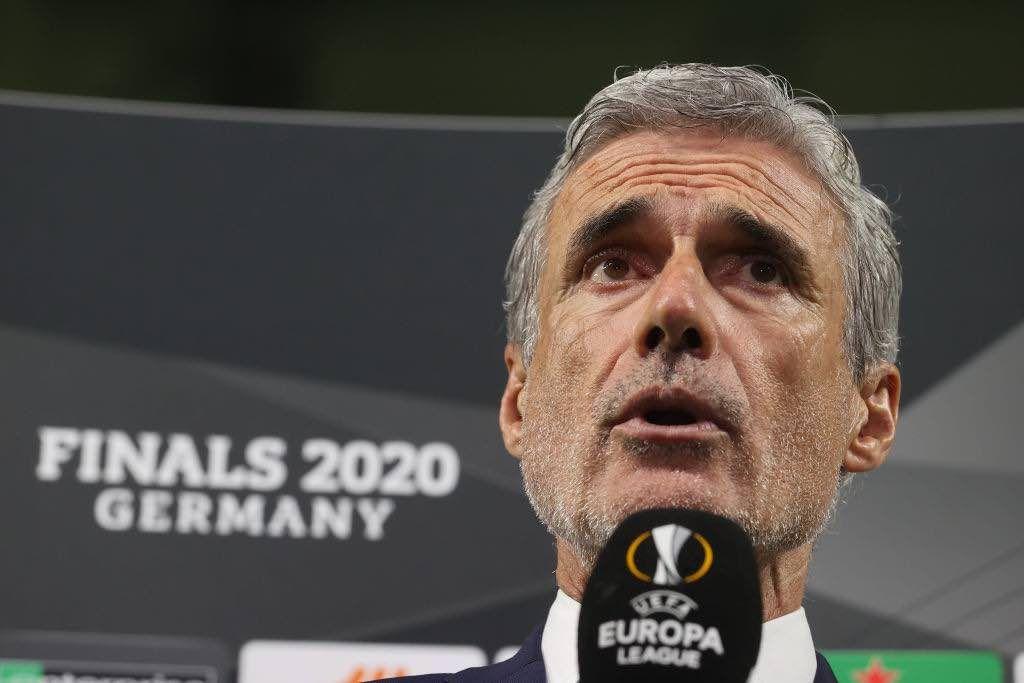 Luis Castro allenatore dello Shakthar impegnato in semifinale E.L. contro l'Inter