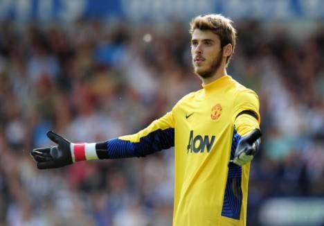 David DE GEA portiere del Manchester United