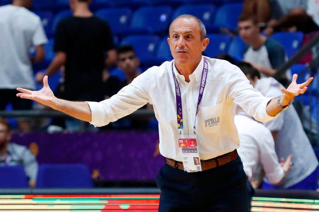 Ettore Messina allenatore dell'Olimpia Milano