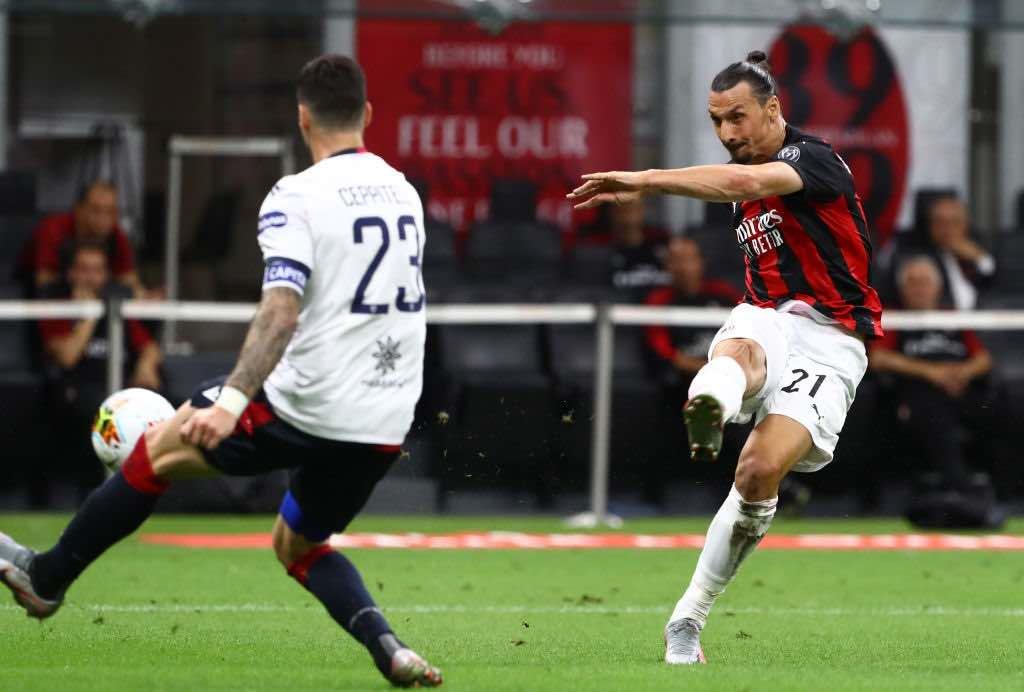 Ibrahimovic impegnato questa sera in Milan Shamrock