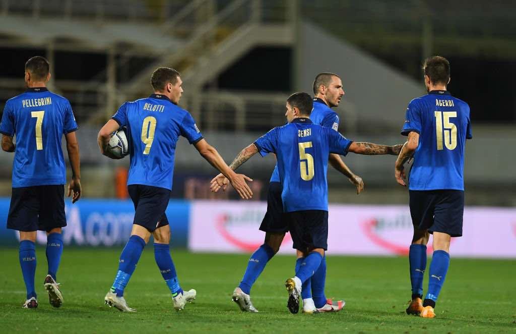 1-1 di Italia - Bosnia Uefa Nations League