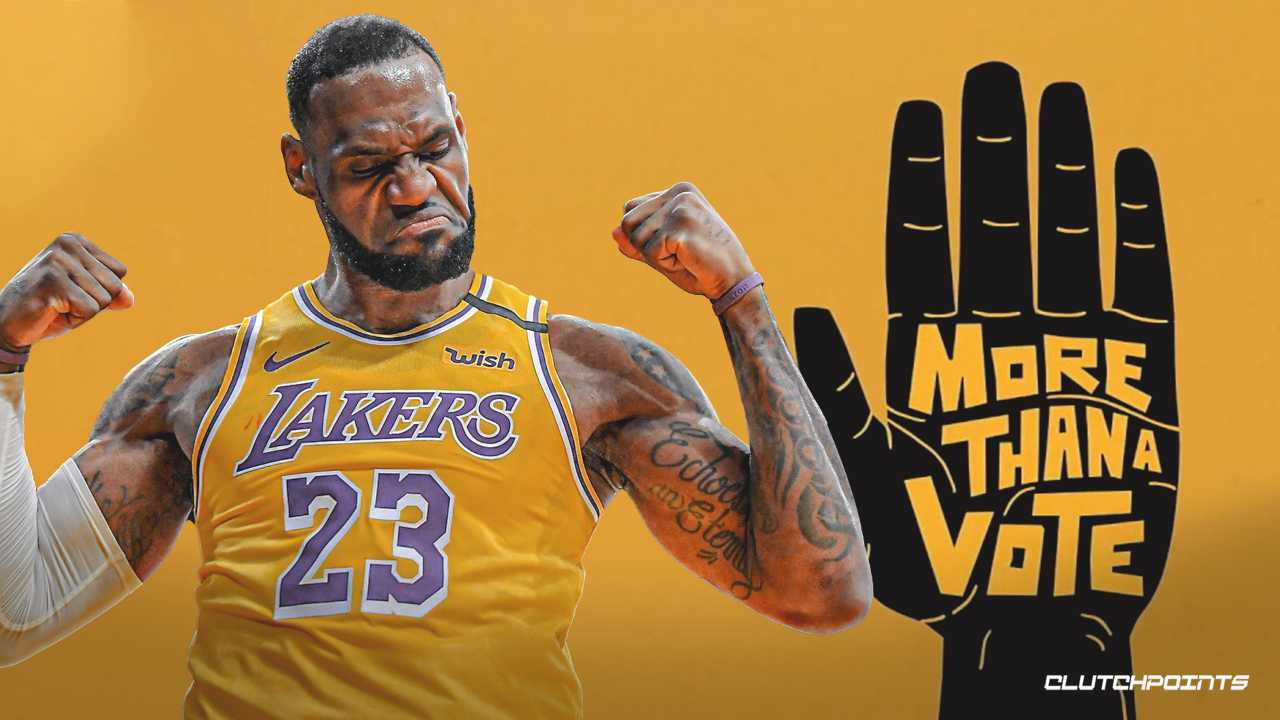 "La campagna ""More than a vote"" di Lebron James"