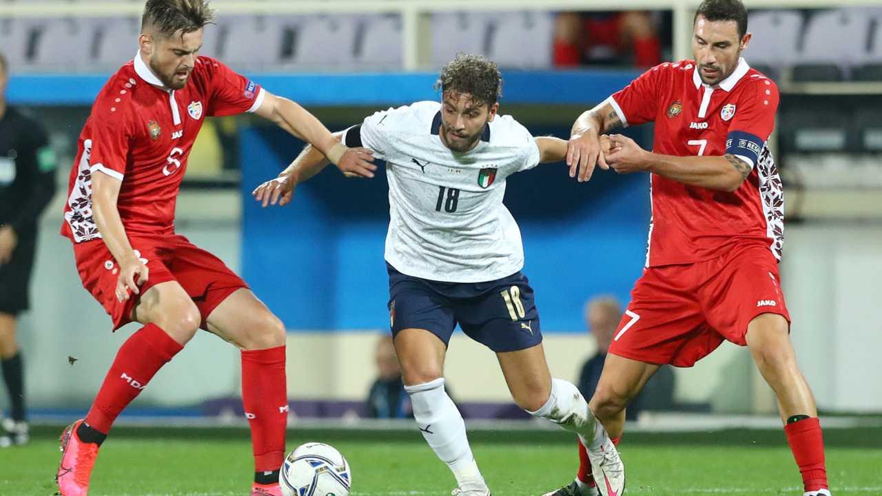Nazionale | Finisce 6-0 per l'Italia l'amichevole con la Moldova | VIDEO