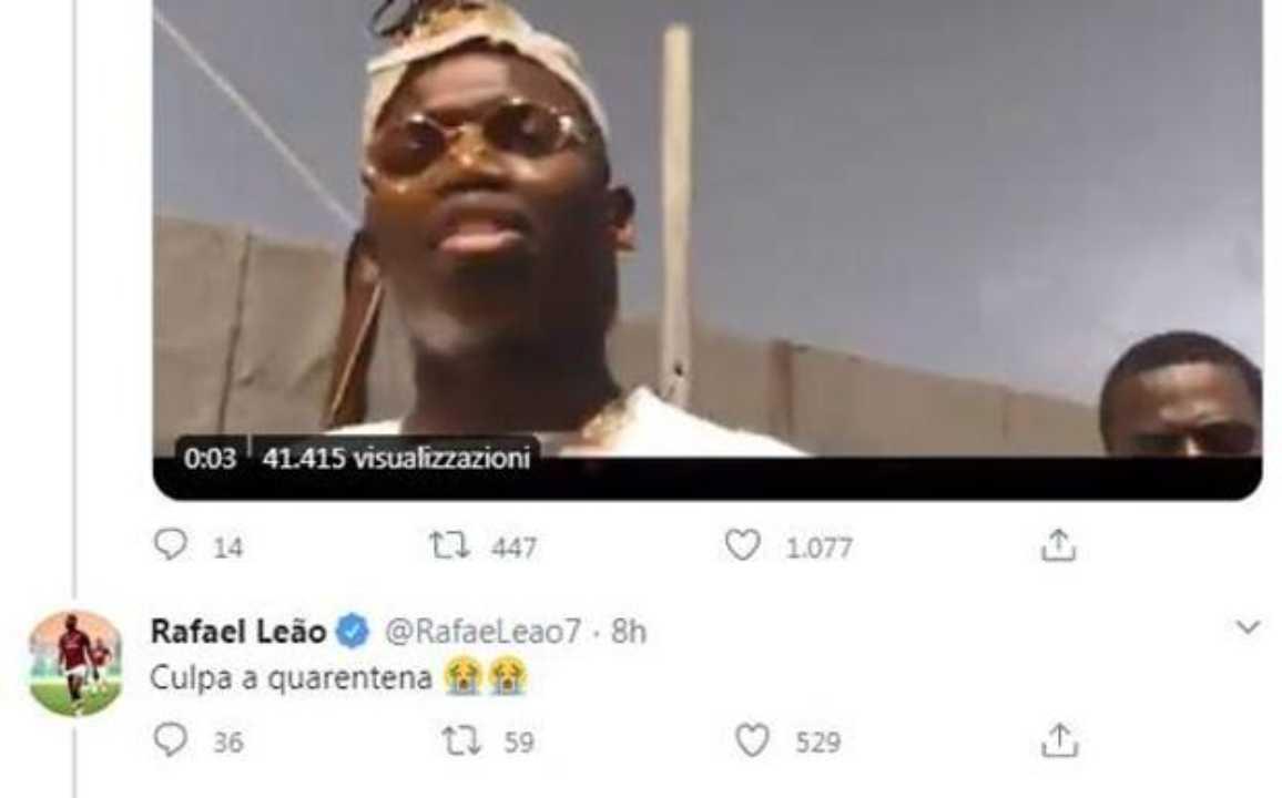 Tweet Leao