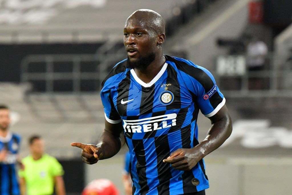 Lukaku autore del 2-0 dell'Inter in Europa League