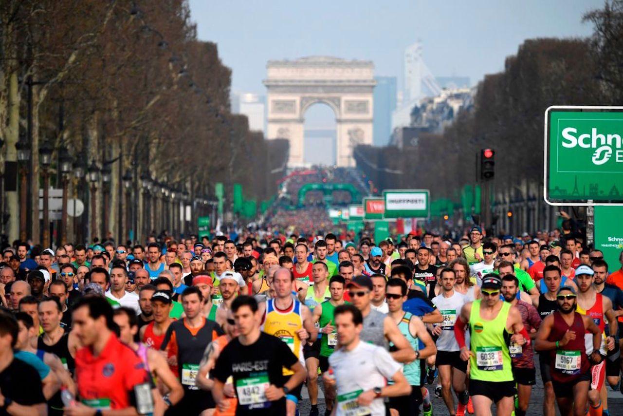 La Maratona di Parigi 2020 cancellata a causa del Coronavirus
