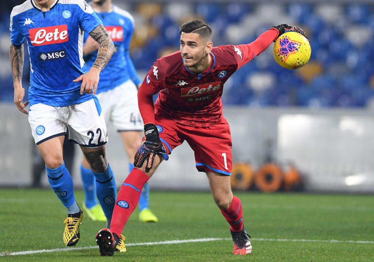 Calciomercato Roma   Obiettivo Meret del Napoli: le ultime