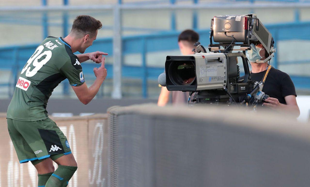 Calciomercato Roma | Milik, l'agente a Trigoria per chiudere