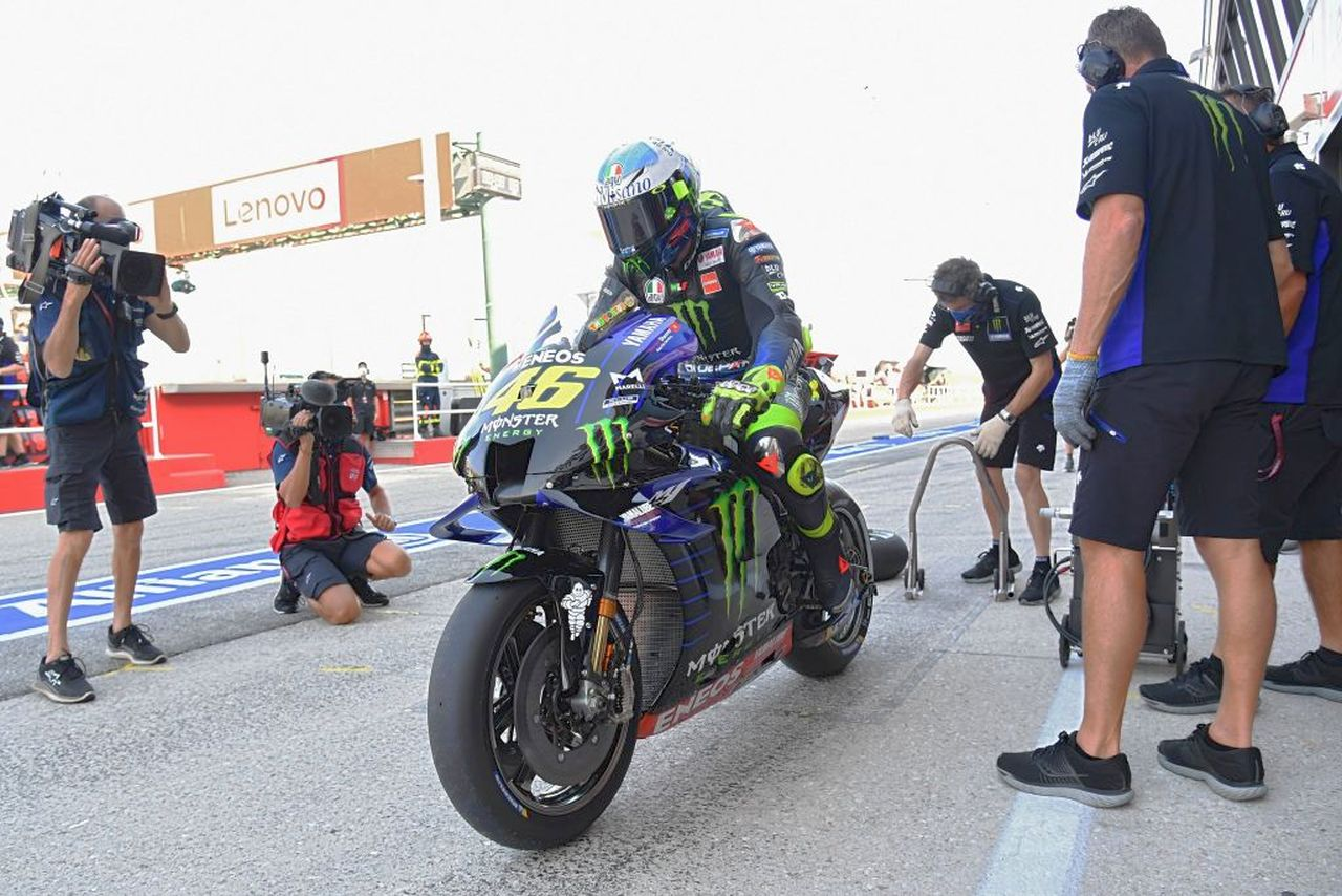 "MotoGP | LeMans, Rossi promette: ""Lotterò per il podio"""