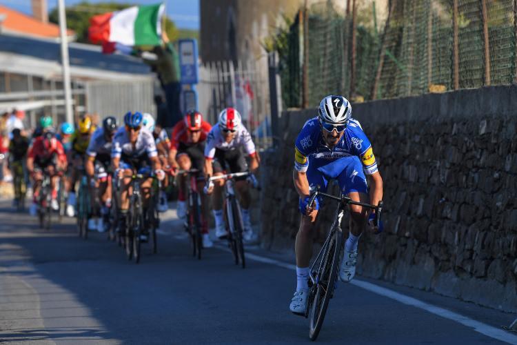Ciclismo, Milano-Sanremo. Poggio