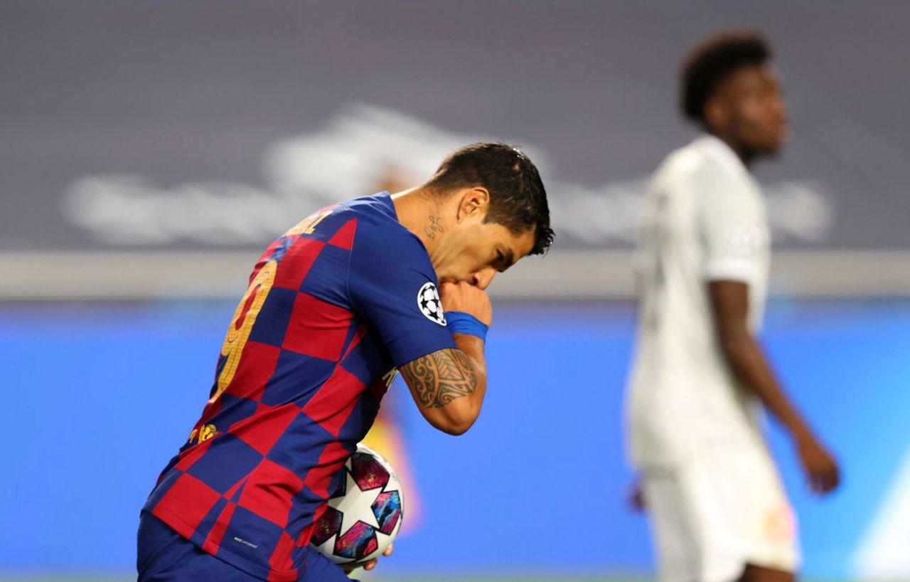 Suarez, il Barcellona trova accordo con l'Atletico Madrid