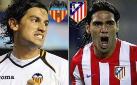 valencia atletico madrid 276x171 EUROPA LEAGUE. VALENCIA   ATLETICO MADRID 0   1. Il gol di Lopez manda in finale lAtletico