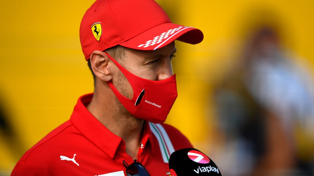 Vettel non supera il Q2 delle qualifiche del gp di Silverstone