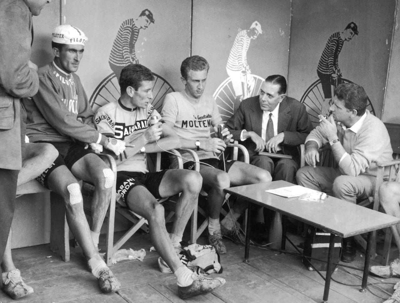 """Zavoli e """"Processo alla tappa"""", il racconto del Giro d'Italia"""